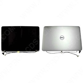 Complete LED screen for laptop DELL XPS 15 L521 LID ARGENT 15.6 1920X1080
