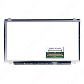 LCD LED screen replacement type Boehydis NT156WHM-N12 15.6 1366x768 Glossy