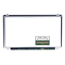LCD LED screen replacement type HP Compaq 1AD18PA 15.6 1366x768 Glossy