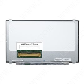 LCD LED screen replacement type HP Compaq 1AD42PA 17.3 3840x2160