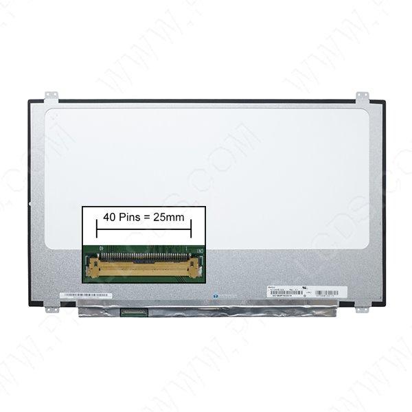 LCD LED screen replacement type Sharp LQ173D1JW33 17.3 3840x2160