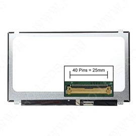 Dalle écran LCD LED Tactile type Samsung LTN156AT40-D01 15.6 1366x768
