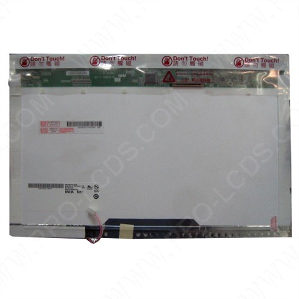 LCD screen replacement SHARP LQ154M1LW02A 15.4 1920X1200