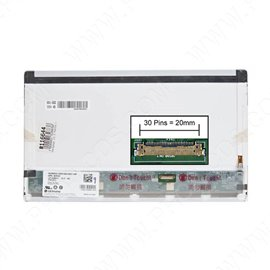 LCD LED screen replacement type Samsung LTN133AT17-104 13.3 1366x768