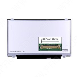 Dalle écran LCD LED type Boehydis NT140WHM-N44 V8.0 14.0 1366x768