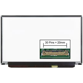 LCD LED screen replacement type Samsung LTN125HL03 12.5 1920x1080