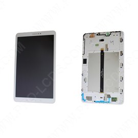 "Genuine Samsung Tab A 10.1"" 2016 SM-T580, SM-T585 White LCD Screen & Digitizer - GH97-19022B"