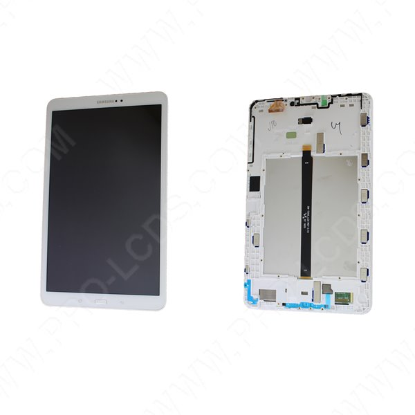 "Genuine Samsung Tab A 10.1"" 2016 SM-T580, SM-T585 White LCD Screen & Digitizer - GH97-19022B"