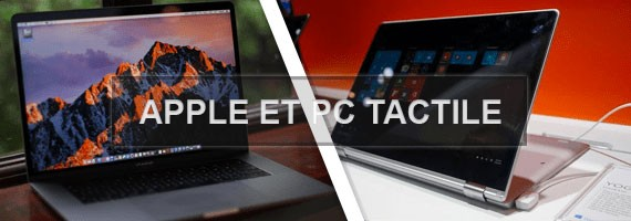 LCD Apple et PC Tactiles